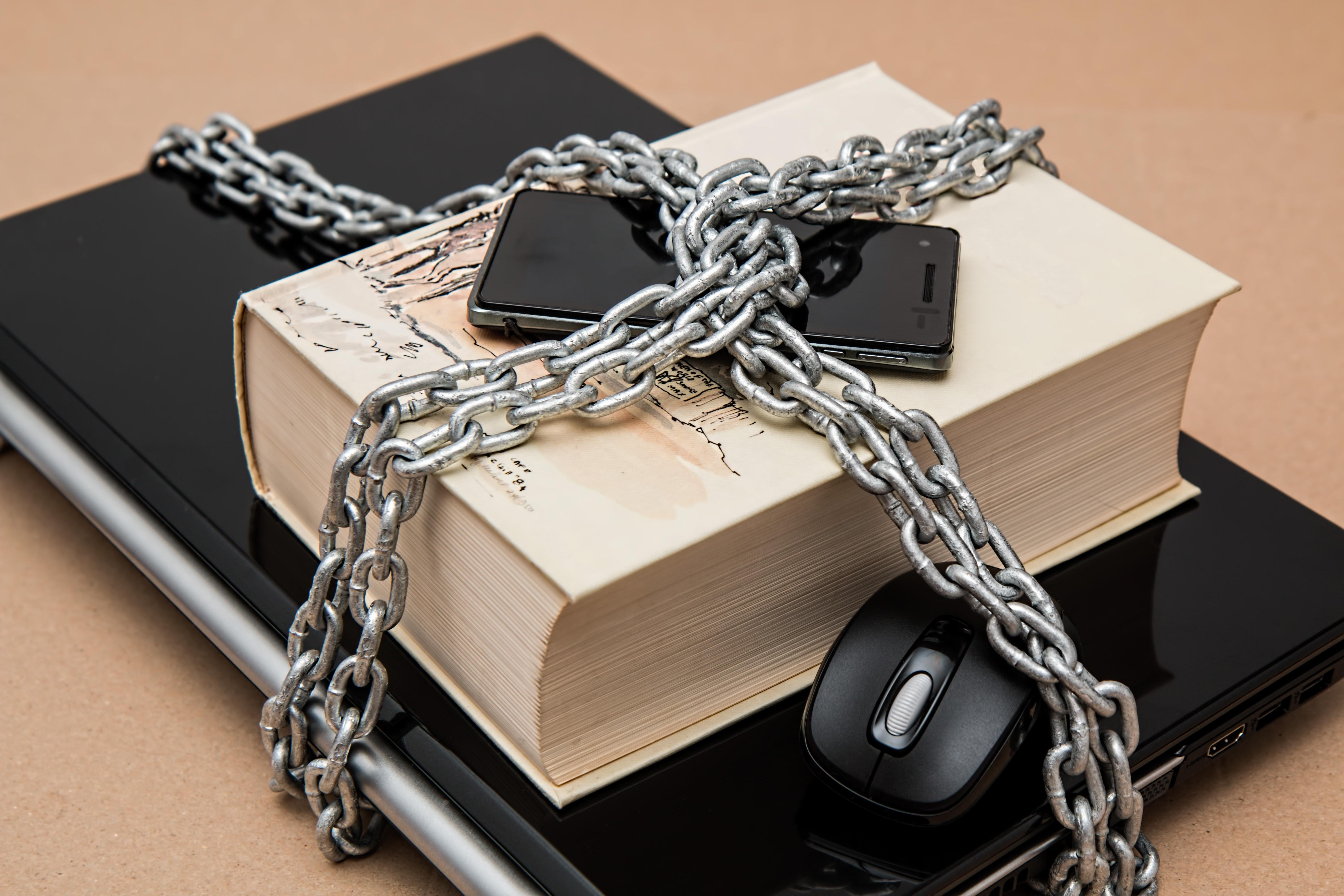 Secure Book Blank